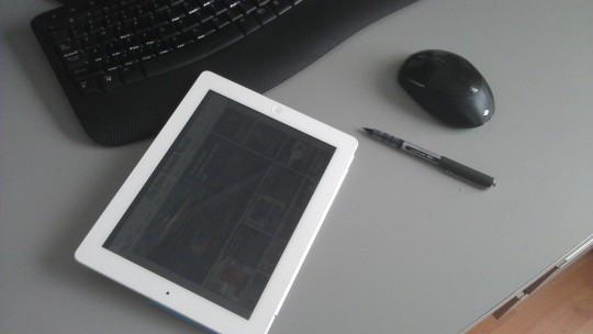 The journalist's ipad