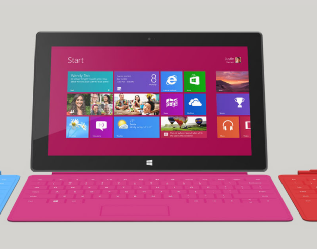 Microsoft Surface sales are not in the pink