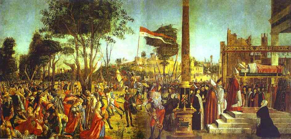 Martyrdom and Funeral of St. Ursula