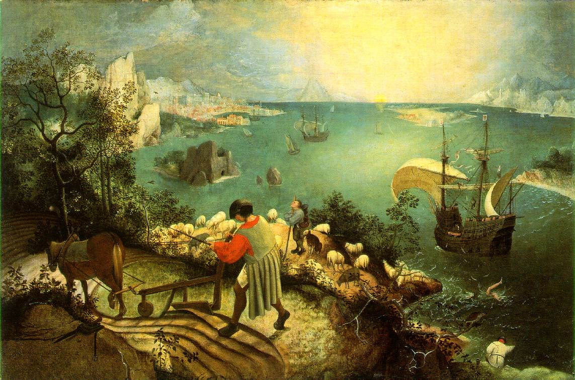 Pieter Bruegel - Landscape with the Fall of Icarus
