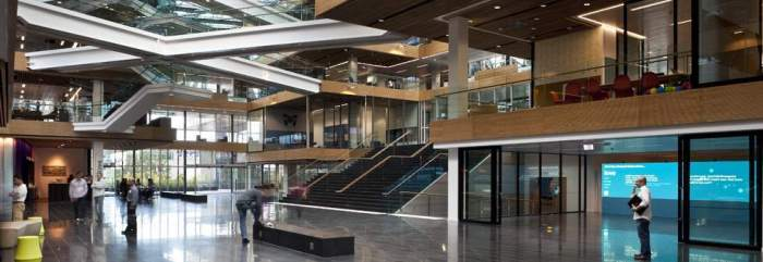 Inside Telecom's Auckland headquarters
