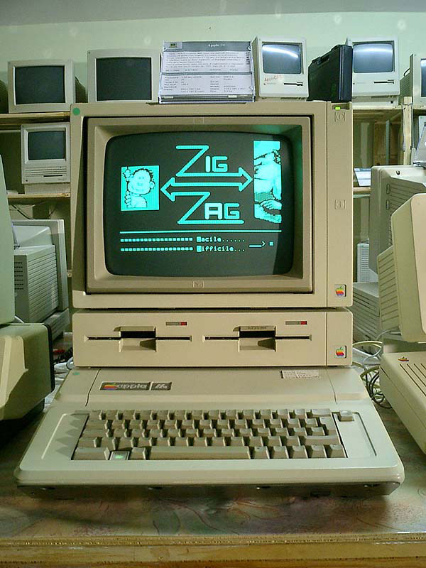 This is where it all started - the Apple II