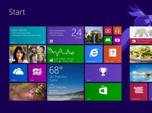 Changes to the Windows 8  start screen are largely cosmetic