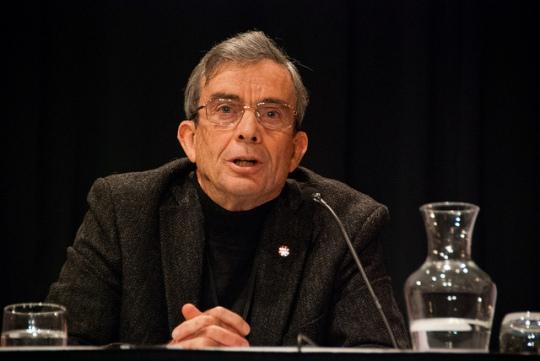 Former GCSB director Sir Bruce Fergusson at NetHui 2013