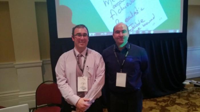 Dean Pemberton and Tim Wright