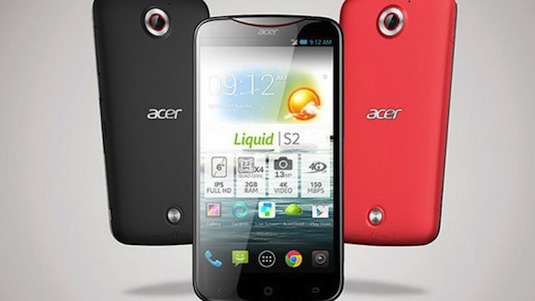 acer-liquid-s2 smartphone