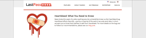 LastPass Heartbleed