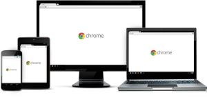 Chrome on smartphone, tablet, PC, Chromebook