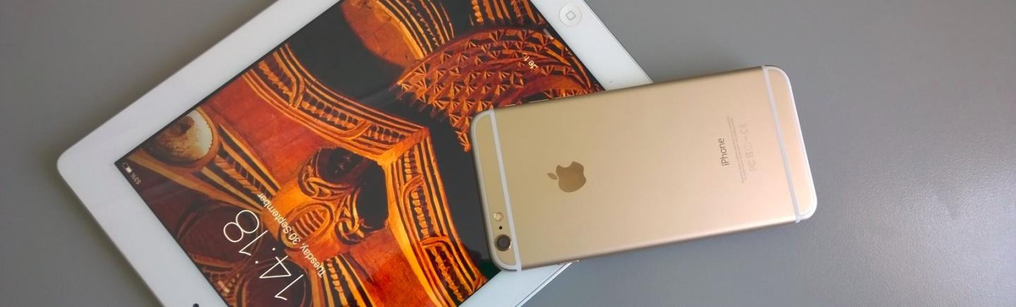iPhone 6 Plus ipad