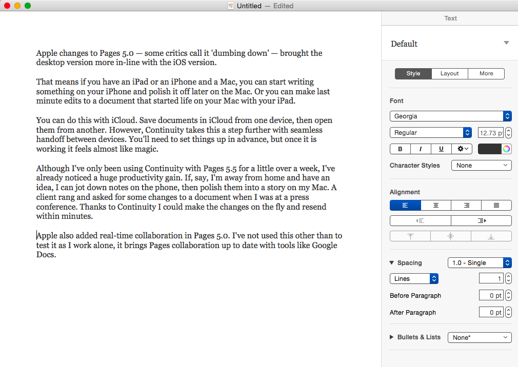 How to write an E-Book in Microsoft Word or Apple's Pages