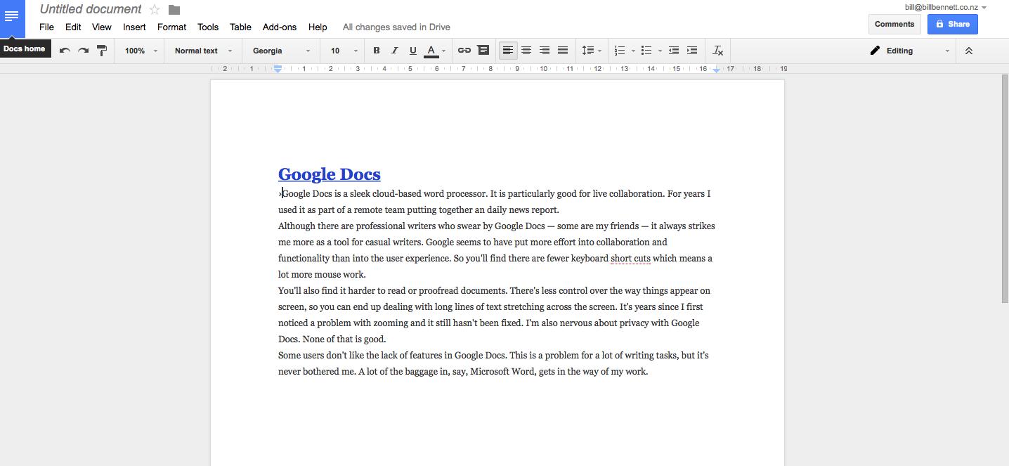 how to delete documents on google docs app