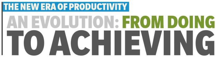 The New Era of Productivity