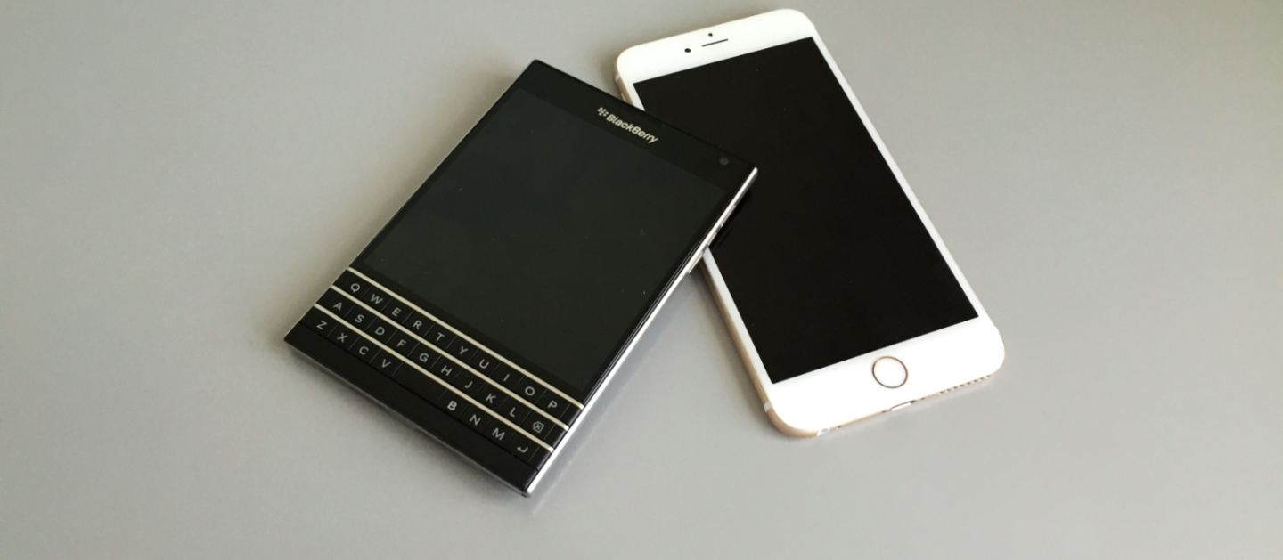 BlackBerry Passport Apple iPhone 6 Plus