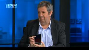 BlackBerry Passport on TV3 Firstline