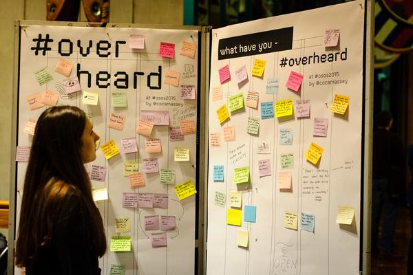 #Overheard