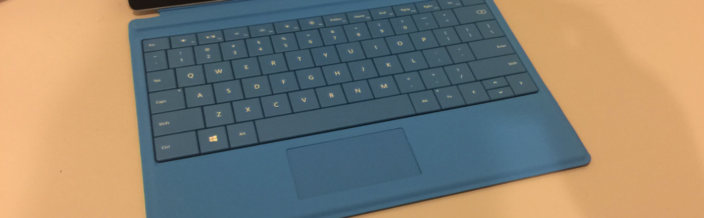 Surface 3 keyboard