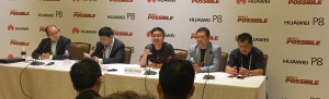 Huawei P8 Launch press conference Singapore June 2015