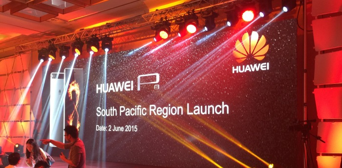 Marketing razzamatazz starts here, Huawei P8