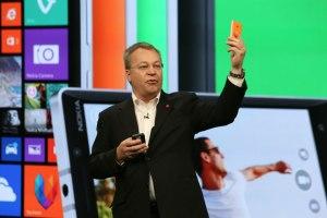 Steven Elop Nokia Microsoft lumia phones