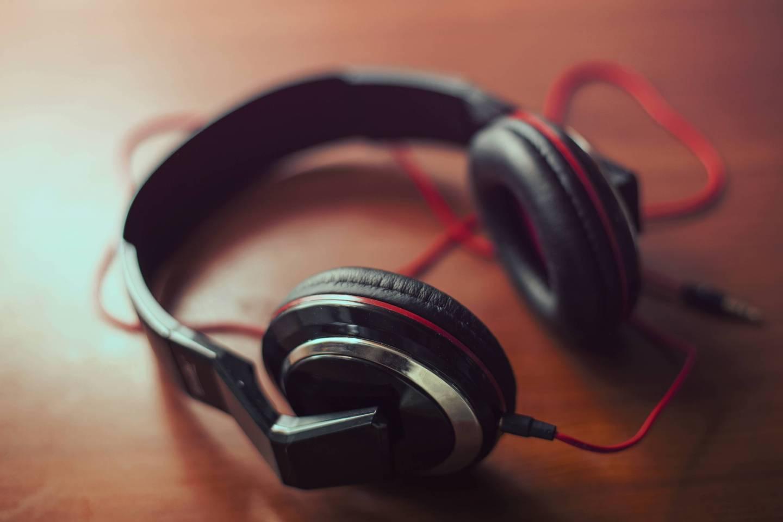 Headphones music sound audio