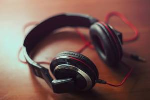 Headphones music sound audio