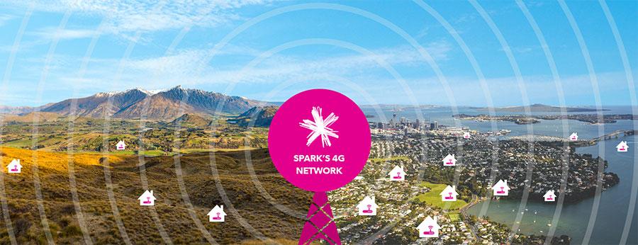spark 4g wireless broadband