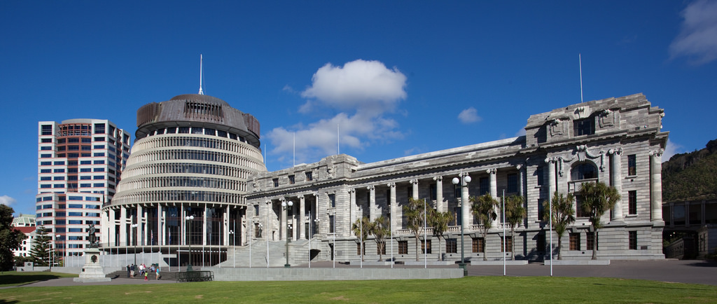 Beehive Wellington Government