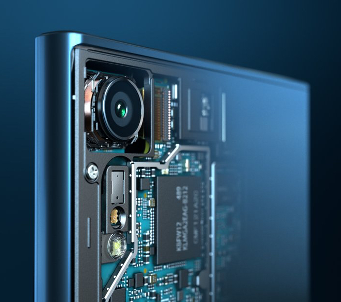 Triple sensor camera